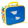Grid Lock Insulated Reusable Lunch Bag, Planes slideshow image 3