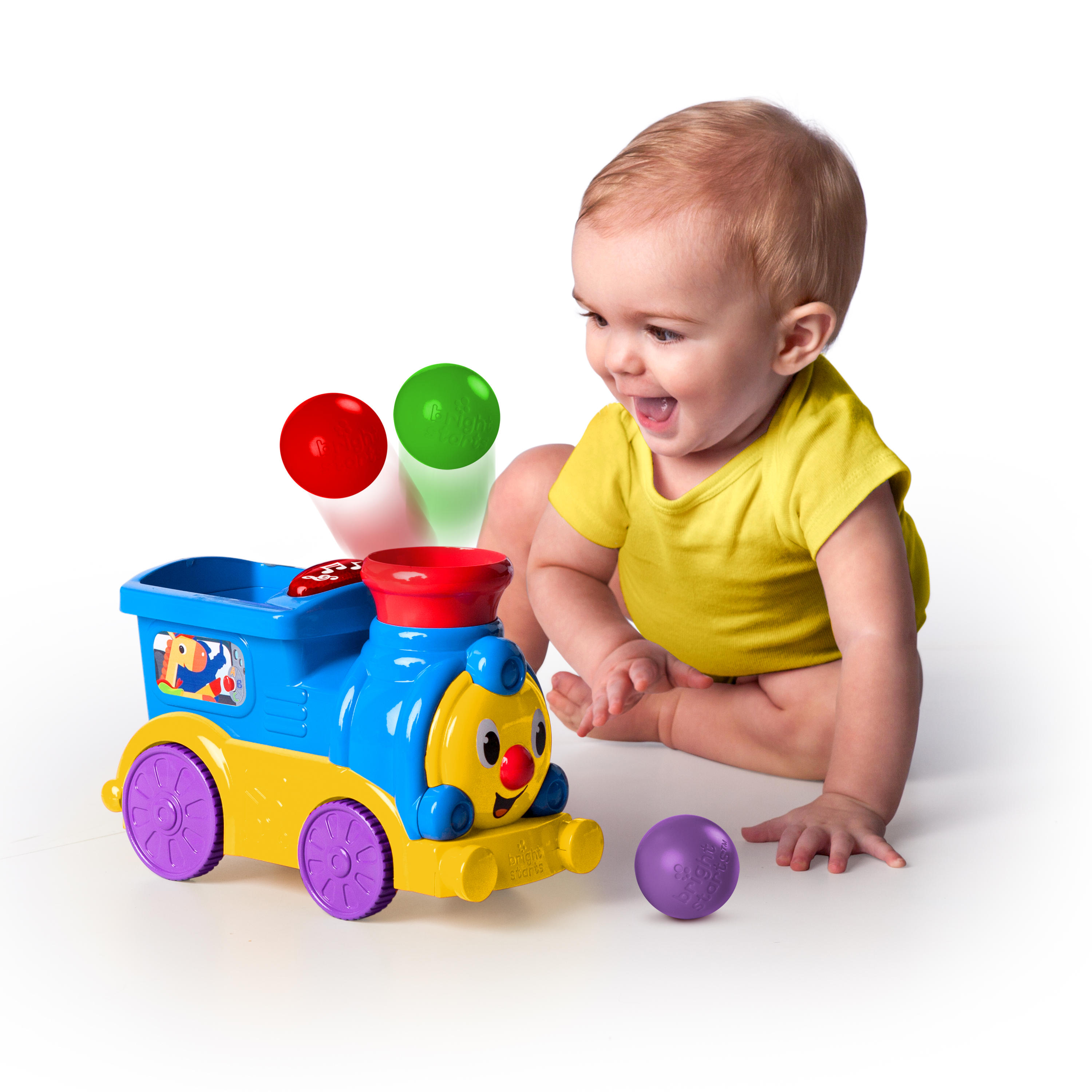 Roll & Pop Train™ Toy