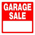"""Garage Sale Sign (17"""" x 18"""")"""