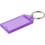 Hard Plastic Key Tag