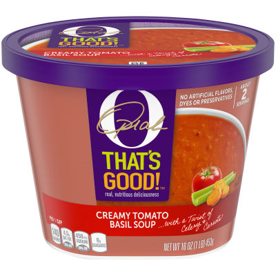 O That's Good! Creamy Tomato Basil Soup 16 oz Tub
