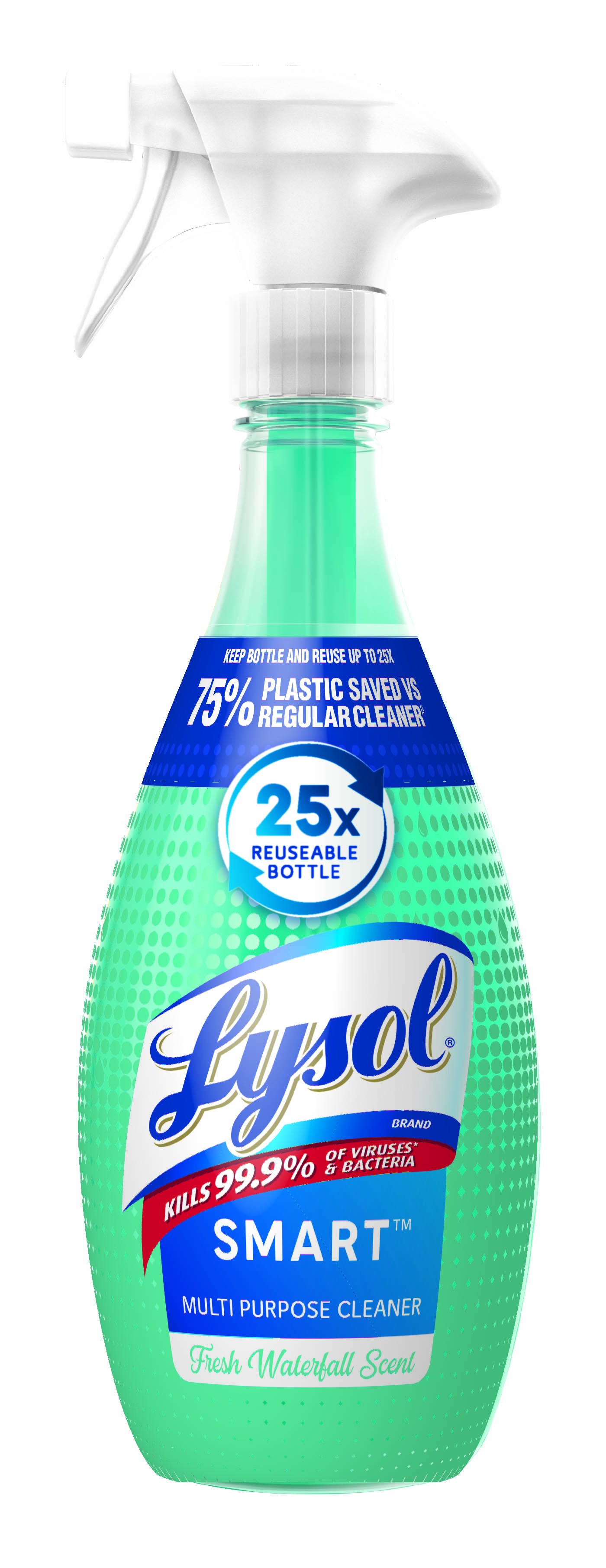 Lysol SMART Multi-Purpose Cleaner - 1+1 Fresh Waterfall Retail Starter Kit