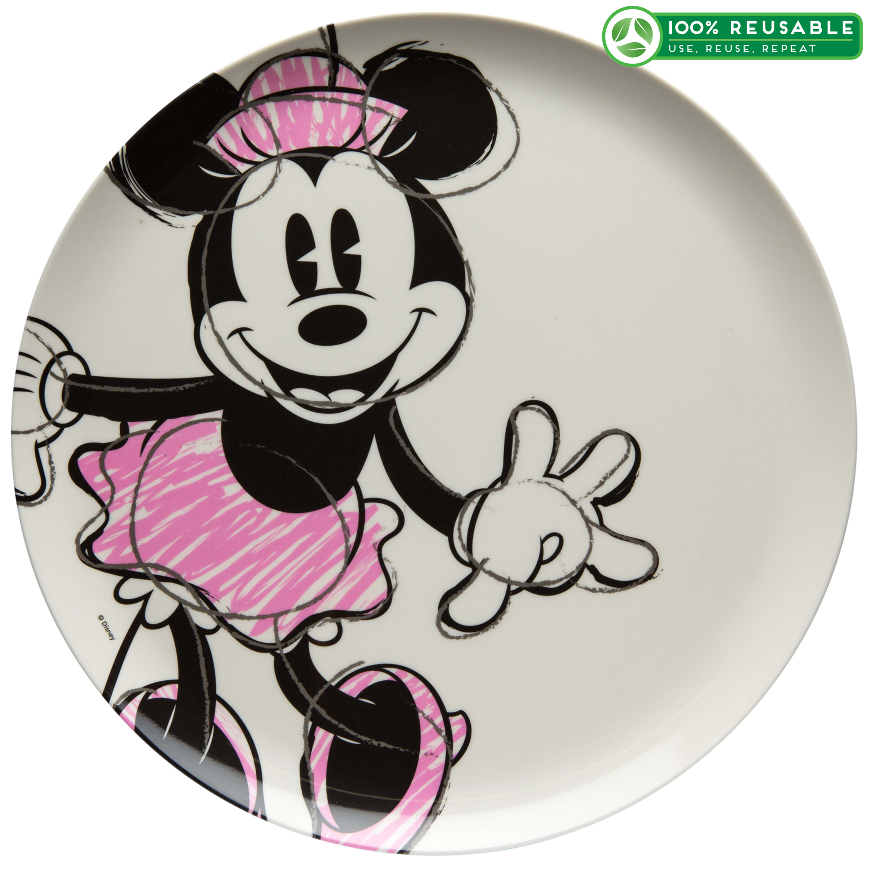 Disney Kid's Plate, Minnie Mouse slideshow image 1