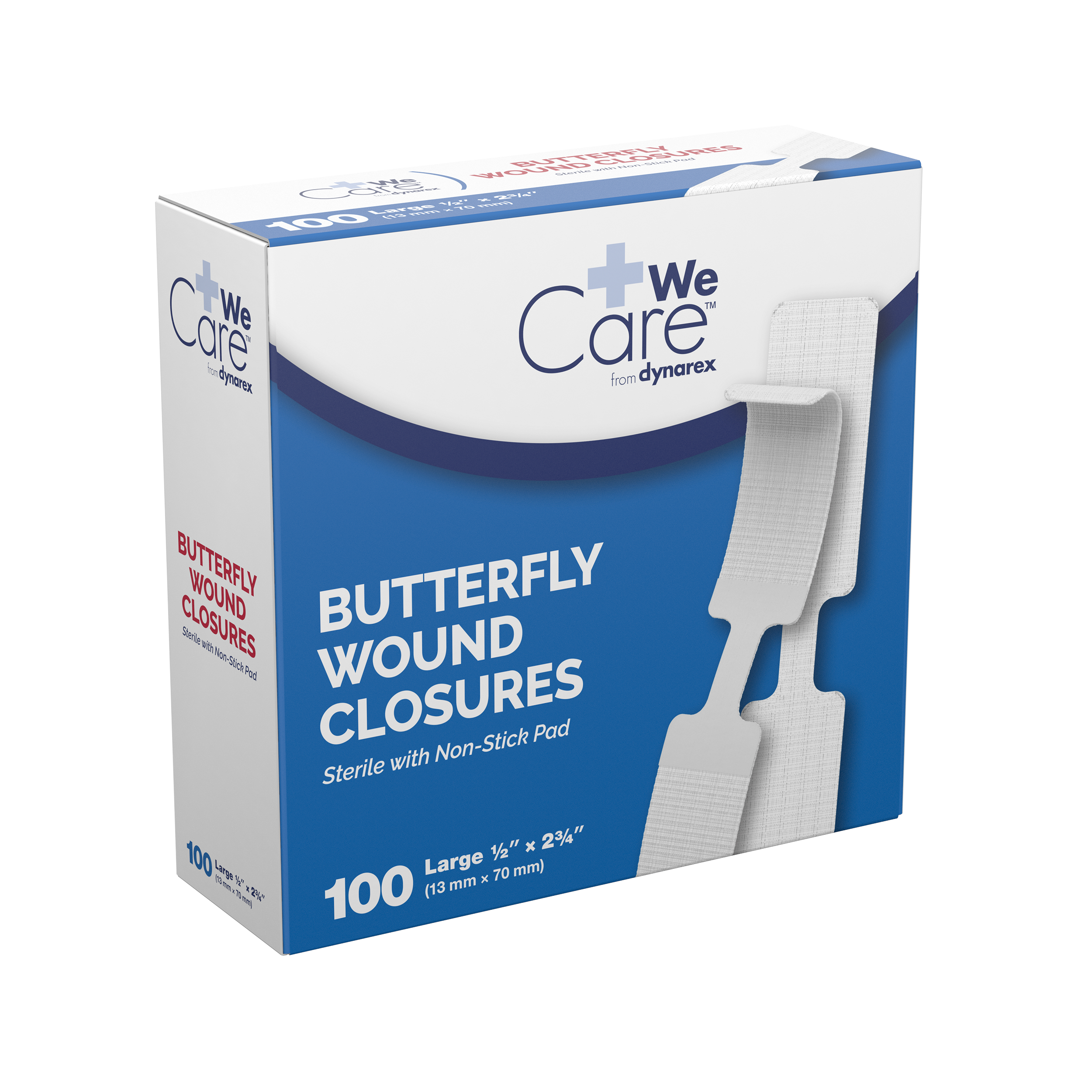 Butterfly Wound Closure Sterile - 1/2