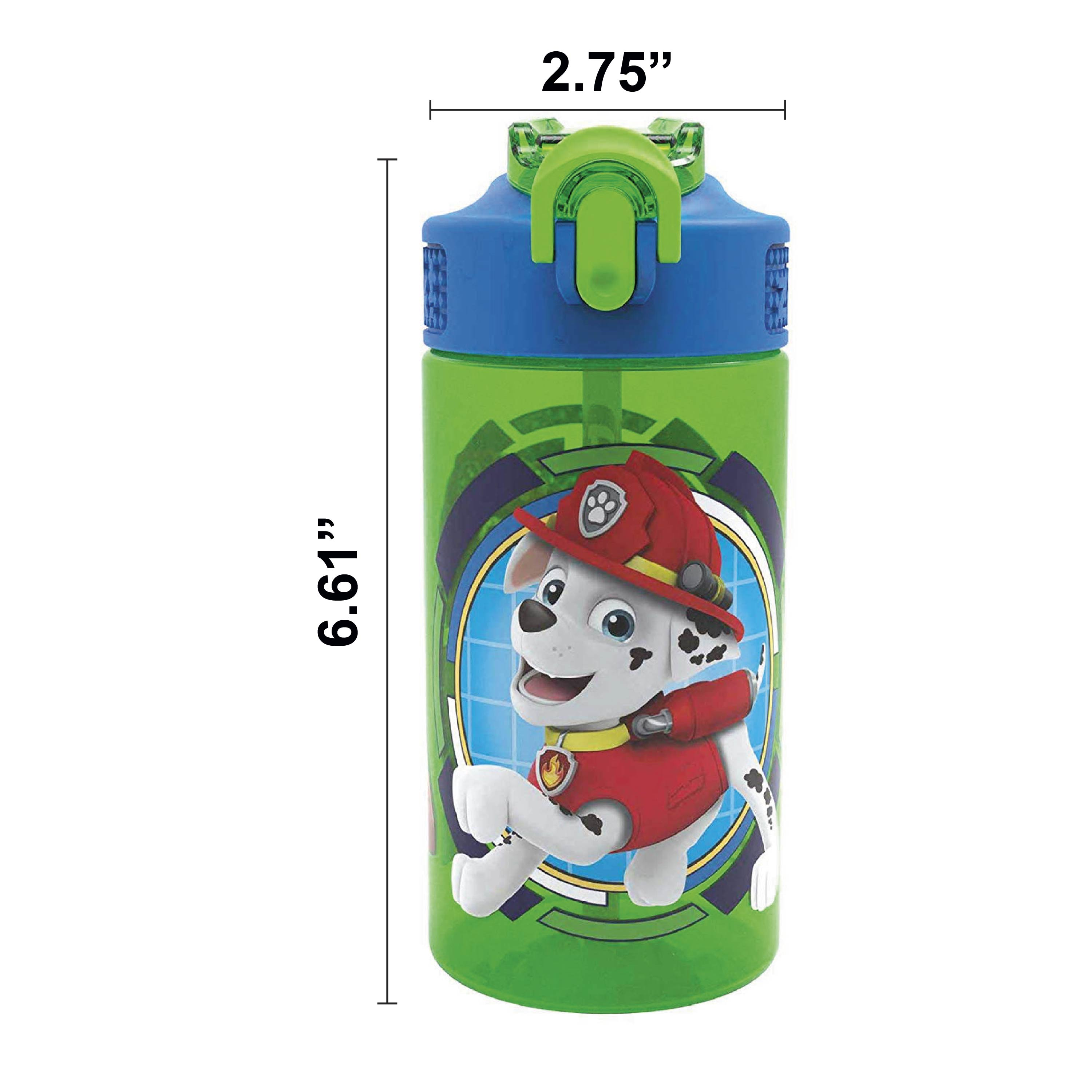 Paw Patrol 16 ounce Water Bottle, Rocky, Rubble & Chase slideshow image 7