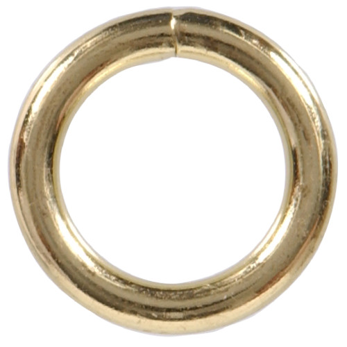 Hardware Essentials Welded Rings Brass 0.177