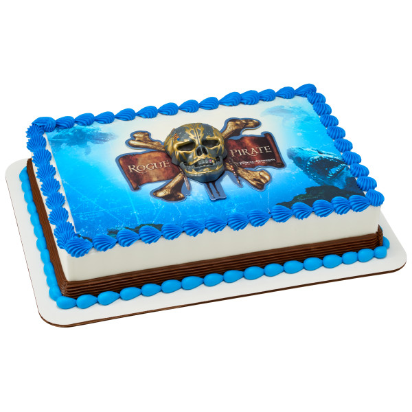 Pirates of the Caribbean Marked by a Curse PhotoCake® Edible Image® DecoSet® Background