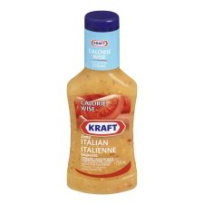 Kraft Calorie Wise Zesty Italian Dressing, 250mL