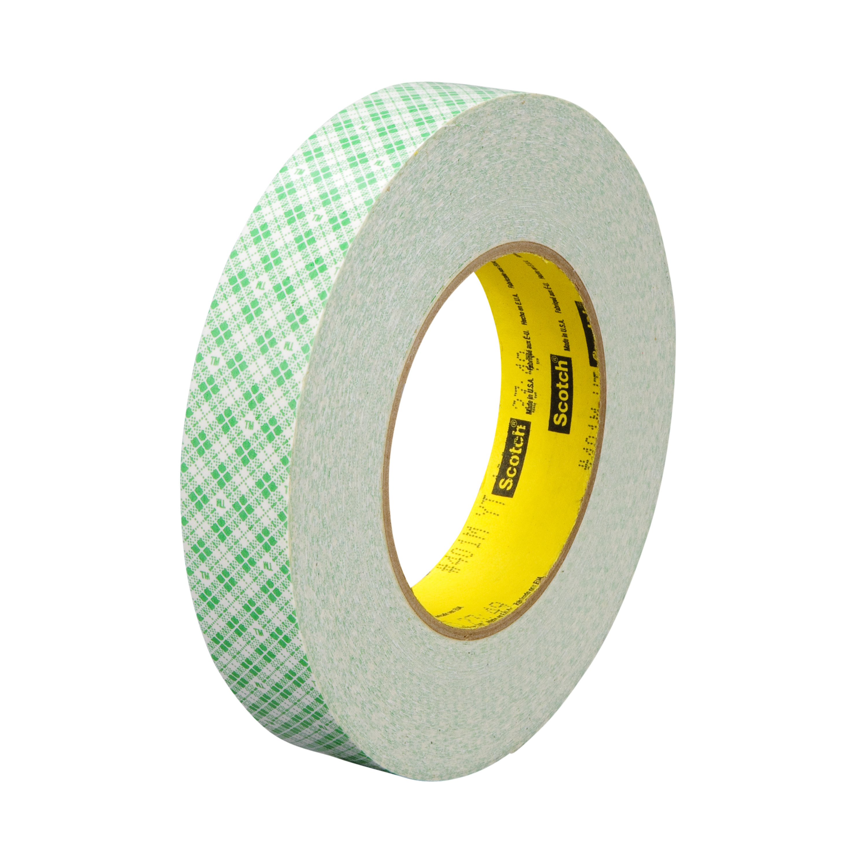 3M™ Double Coated Paper Tape 401M, Natural, 9 mil, Roll, Config