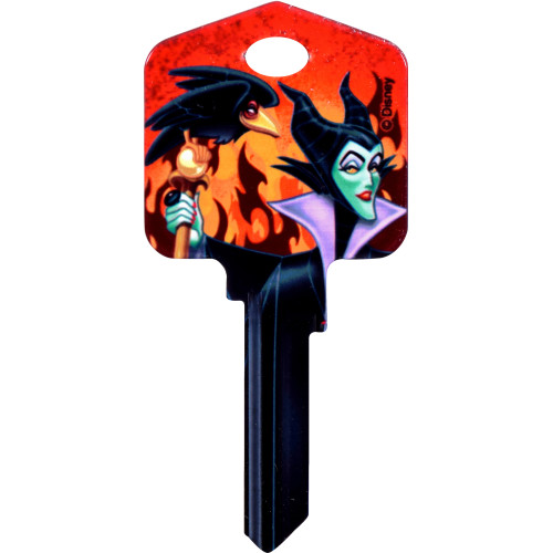 Disney Maleficent Key Blank Kwikset 66/97 KW1/10