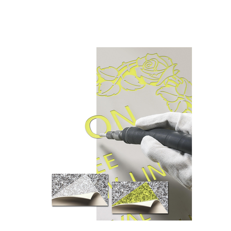 3M™ Die-Cut Sandblast Stencil 519Y, Tan, 48 mil, Roll, Config