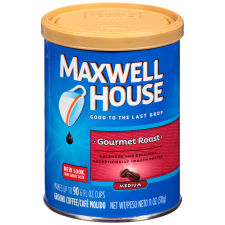 Maxwell House Gourmet Roast Ground Coffee 11 oz Canister