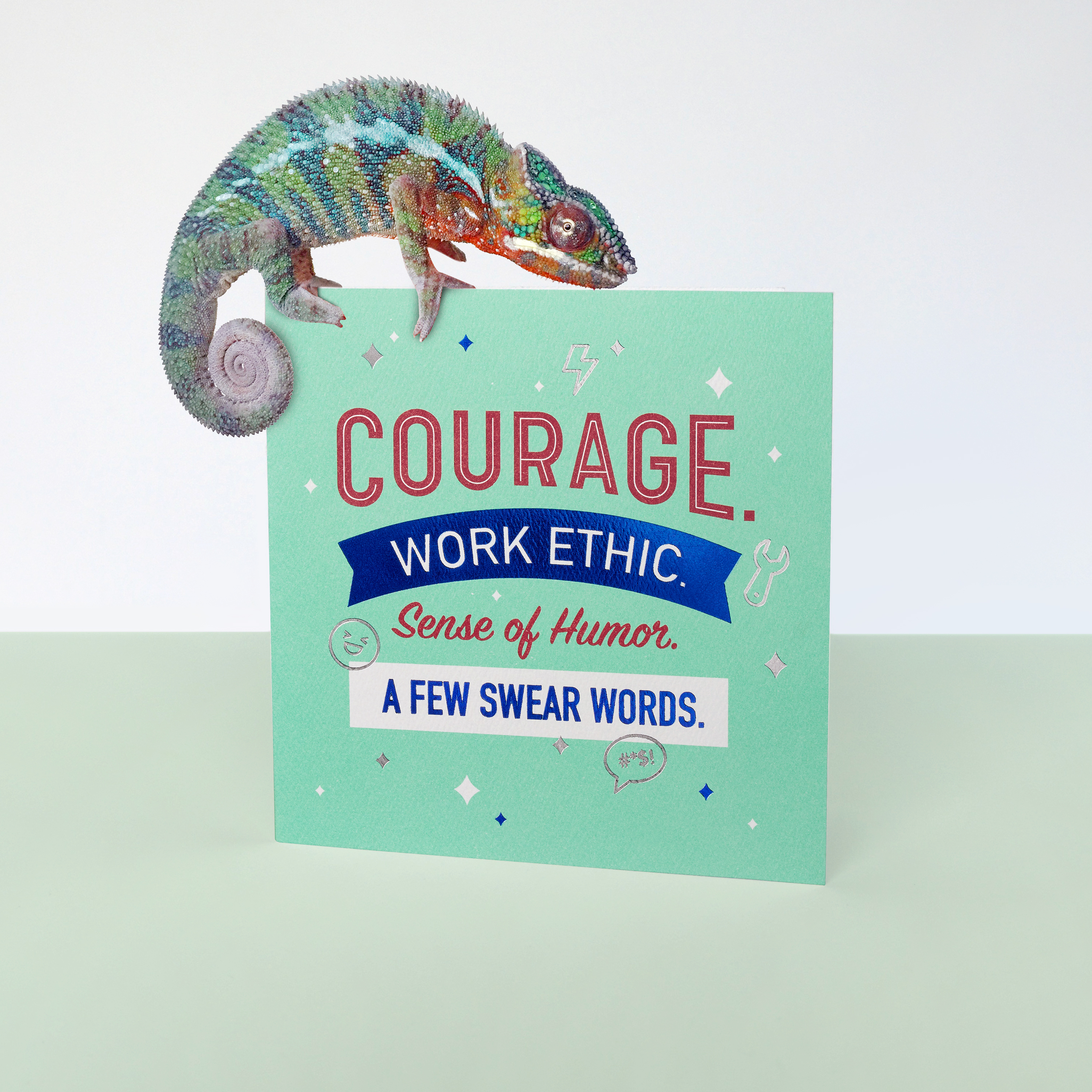 Courage Father's Day Card image