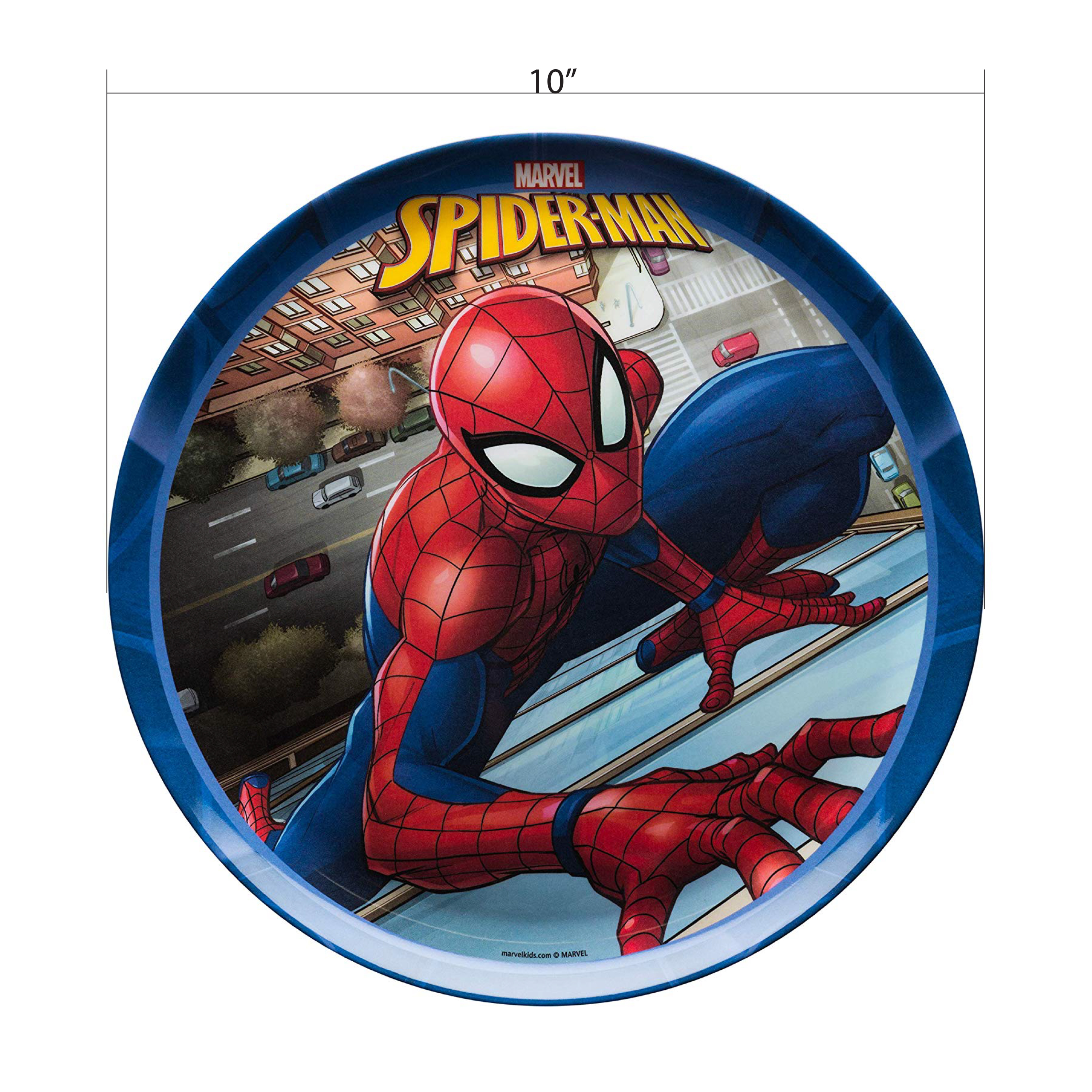 Marvel Comics Dinnerware Set, Spider-Man, 2-piece set slideshow image 6