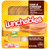 Oscar Mayer Lunchables Ham & Cheddar with Crackers 3.2 oz Tray