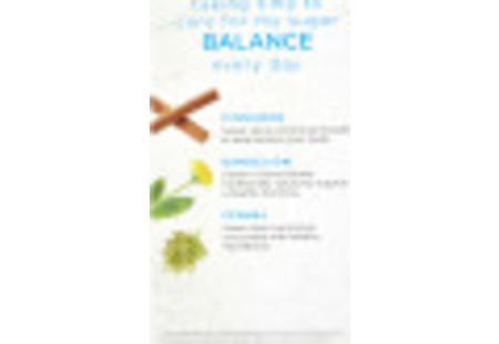 Front of Bigelow Benefits Cinnamon and Blackberry Herbal Tea box