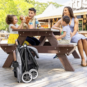 Otto Self-Folding Lightweight Travel Stroller