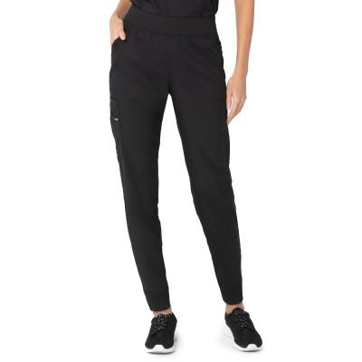Landau ProFlex Seven-Pocket Jogger Scrub Pants for Women: Modern Tailored Fit, Drawstring Medical Scrub Pants 2030-