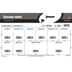 "Elevator Bolts Assortment (1/4""-20 thru 3/8""-16)"