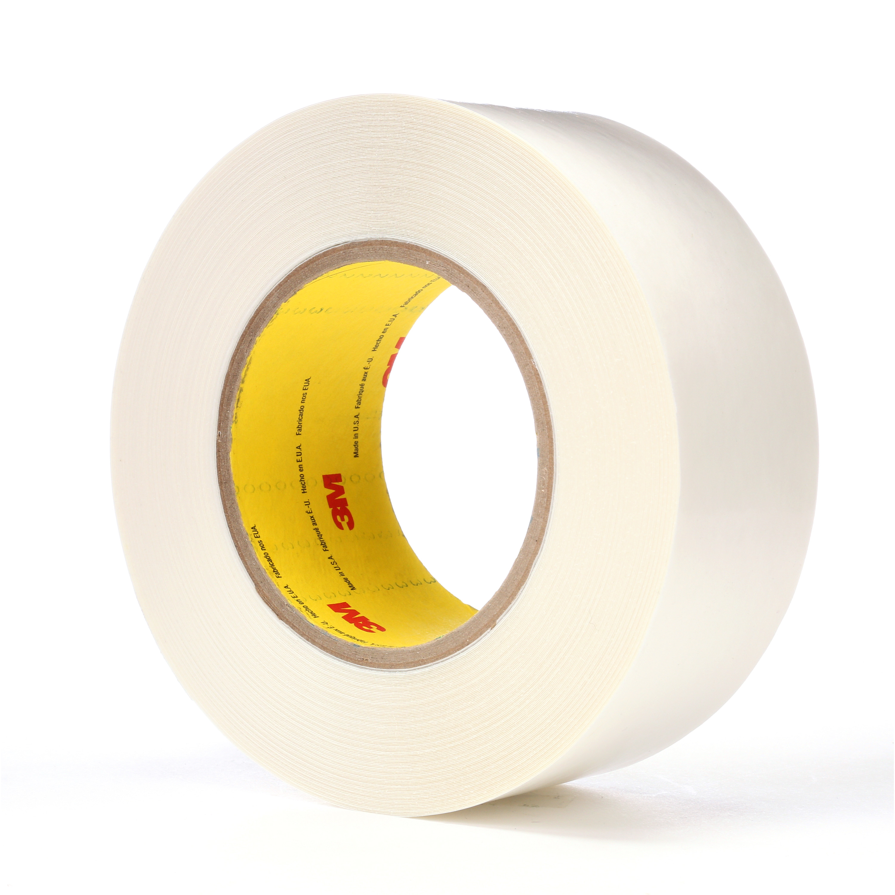 3M™ Double Coated Tape 9579, White, 2 in x 36 yd, 9 mil, 24 rolls per case