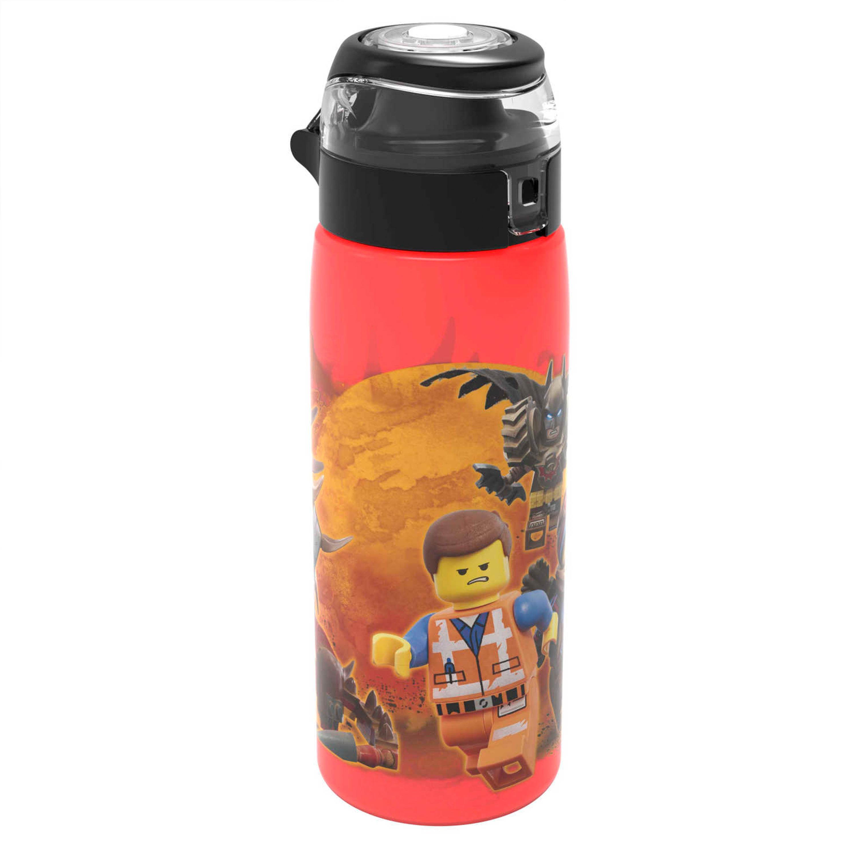 LEGO Movie 2 25 ounce Water Bottle, Batman, Wyldstyle & Emmet, 2-piece set slideshow image 8