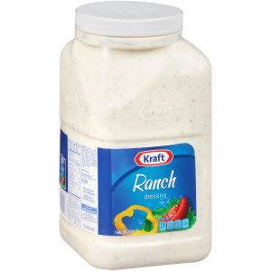 KRAFT Bulk Ranch Salad Dressing, 1 gal. Jug (Pack of 4) image