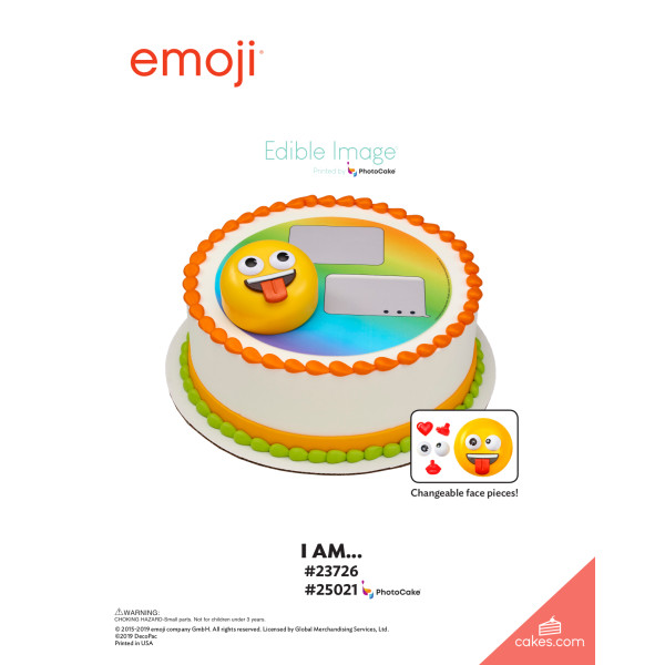 emoji® I Am... DecoSet® The Magic of Cakes® Page