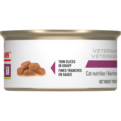 Royal Canin Veterinary Diet Feline Renal Support T Thin Slices in Gravy Canned Cat Food