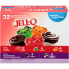 Jell-O Sugar Free Gelatin & Pudding Snacks Mixed Variety Pack, 106 oz Box (32 Cups)