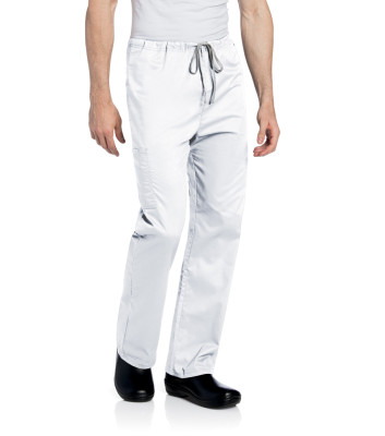 Landau All Day Medical Scrub Pants, Unisex, Mechanical Stretch, Mid Rise, Straight Leg, Drawstring Cargo 2032-Landau