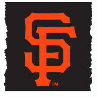 Swatch for MLB Licensed Duck Tape® Brand Duct Tape - San Francisco Giants, 1.88 in. x 10 yd.