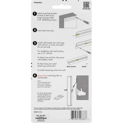 Hangman Speaker Hanging Kit (50lb)