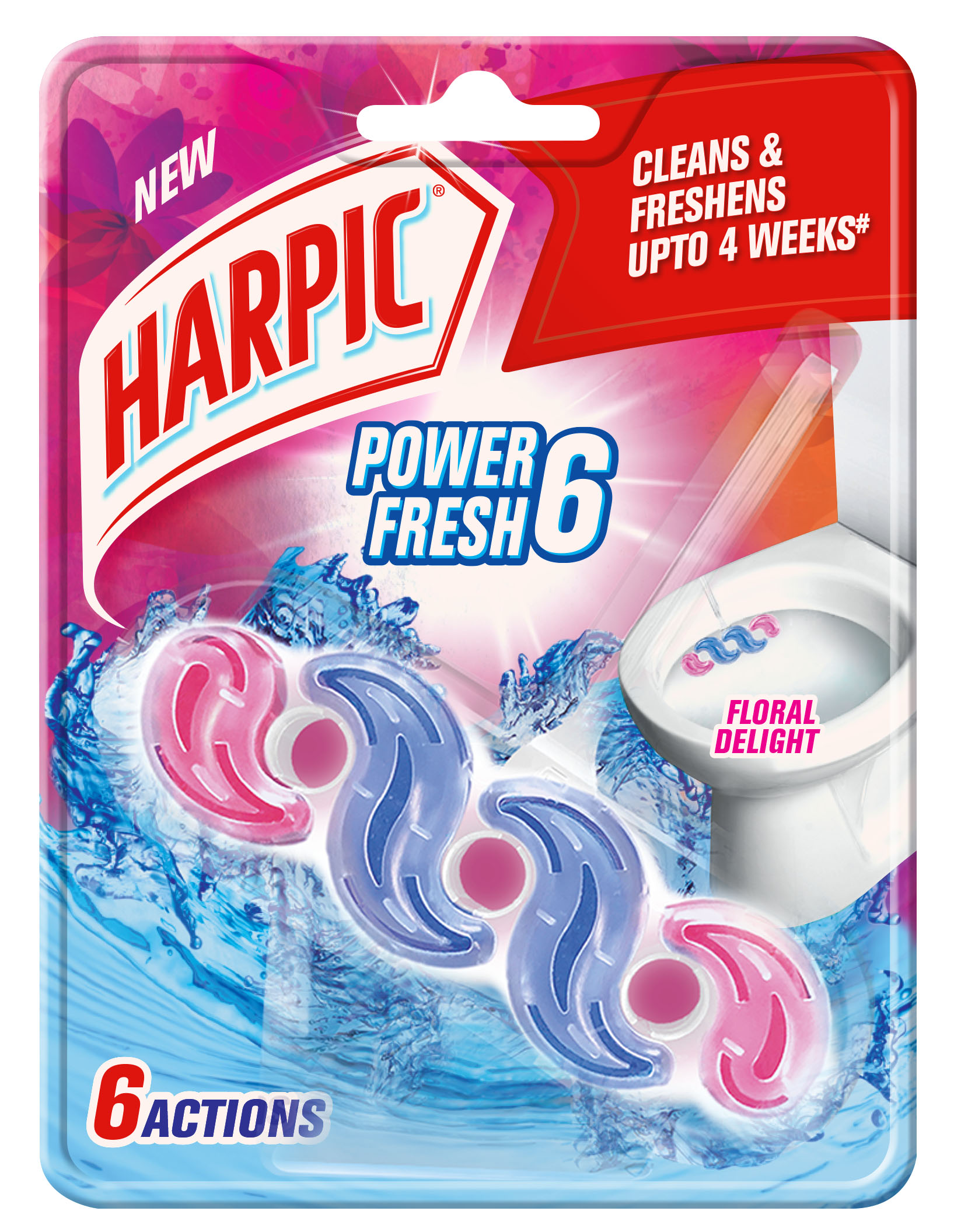 Harpic Power Fresh 6 Floral