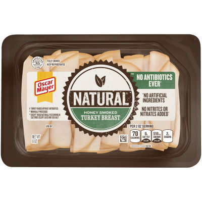 Oscar Mayer Natural Roasted Turkey 3 - 12 count Packs
