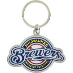 MLB Milwaukee Brewers Key Chain