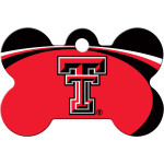 Texas Tech Red Raiders Large Bone Quick-Tag