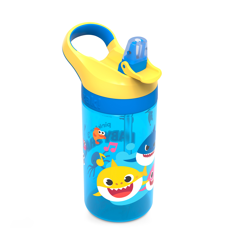 Baby Shark 16 ounce Water Bottle, Underwater Friends slideshow image 5