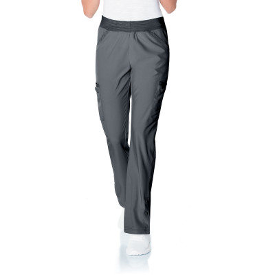 Urbane Performance 4 Pocket Yoga Waist Scrub Pant for Women: Modern Tailored Fit, Super Stretch Straight Leg Medical Scrubs 9251-