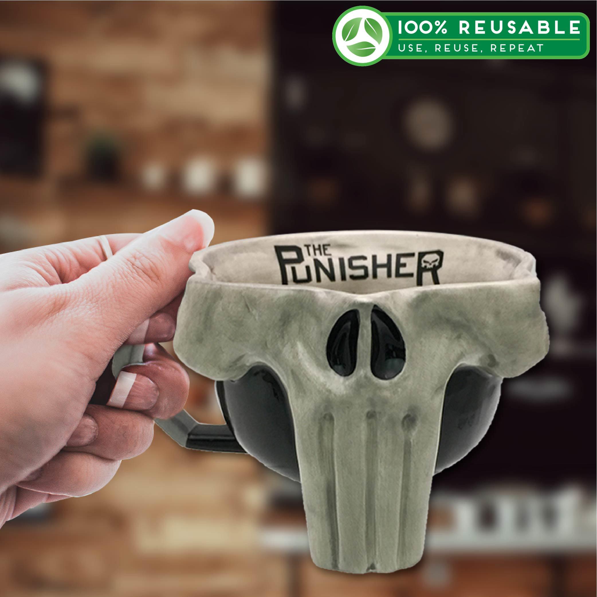 Marvel Comics 17 ounce Coffee Mug, The Punisher slideshow image 1