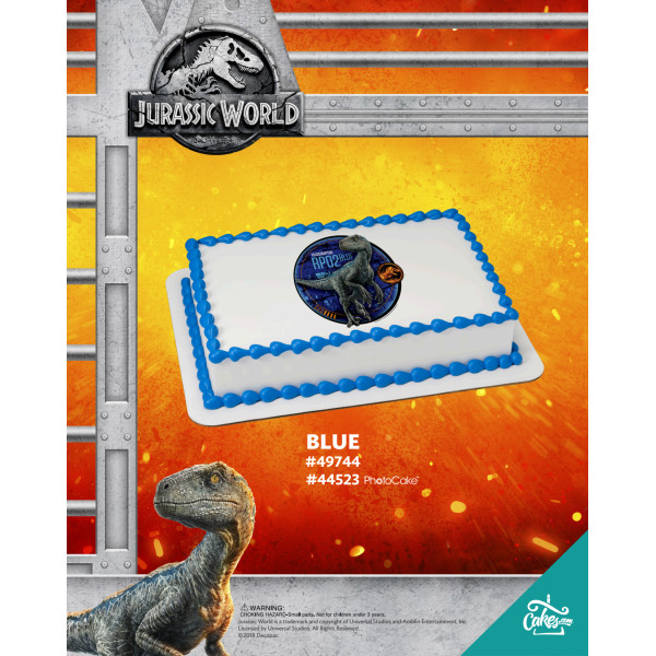 Jurassic World™ Fallen Kingdom Blue The Magic of Cakes® Page