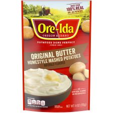 Ore-Ida Butter Homestyle Mashed Potatoes, 4 oz Pouch