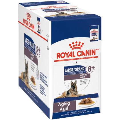 Large Aging 8+ Pouch Dog Food