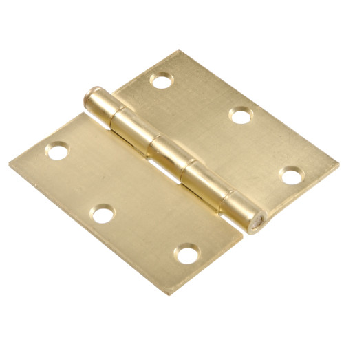 Hardware Essentials Residential Door Hinges with Removable Pin Satin Bronze 3-1/2