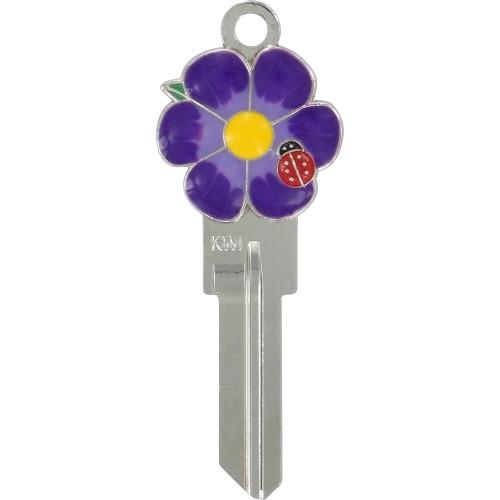 3D Flower Key Blank