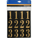 Square Cut Self Adhesive Numbers