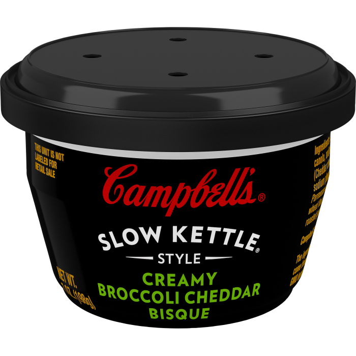 Creamy Broccoli Cheddar Bisque Mini Cups