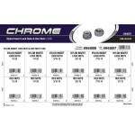Chrome Nylon Insert Lock Nuts & Hex Nuts Assortment (USS)