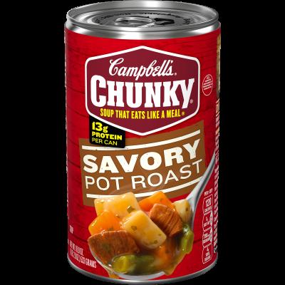 Savory Pot Roast Soup