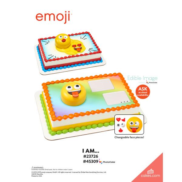 emoji® I Am... DecoSet® The Magic of Cakes® Page