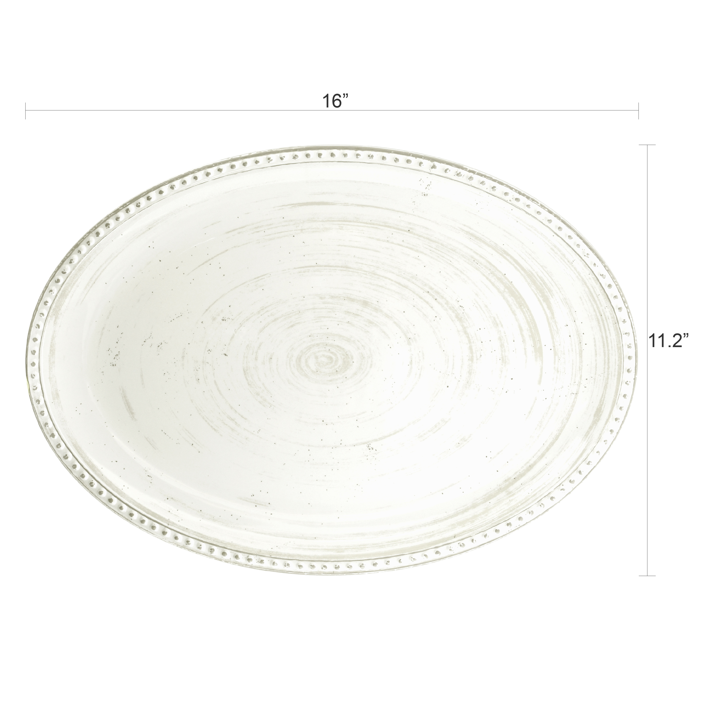 French Country Serving Tray, Oyster slideshow image 6